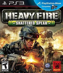 Box art for the game Heavy Fire: Shattered Spear