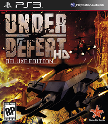 Box art for the game Under Defeat HD