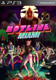Box art for the game Hotline Miami
