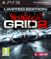 Box art for the game Grid 2