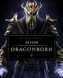 Box art for the game The Elder Scrolls V: Skyrim - Dragonborn