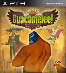 Box art for the game Guacamelee!