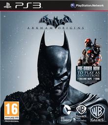 Box art for the game Batman: Arkham Origins