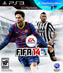 Box art for the game FIFA 14