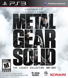 Box art for the game Metal Gear Solid: The Legacy Collection