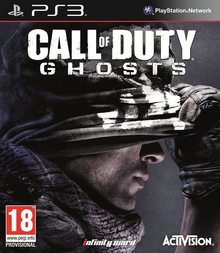 Box art for the game Call of Duty: Ghosts