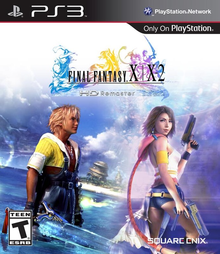 Box art for the game Final Fantasy X / X-2 HD Remaster