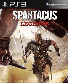Box art for the game Spartacus Legends