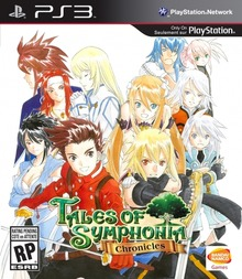 Box art for the game Tales of Symphonia Chronicles