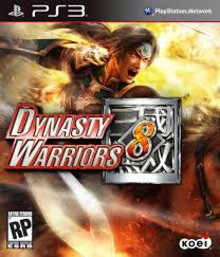 Box art for the game Dynasty Warriors 8