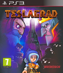 Box art for the game Teslagrad
