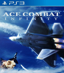 Box art for the game Ace Combat Infinity