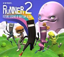 Box art for the game Bit.Trip Presents - Runner 2: Future Legend of Rhythm Alien