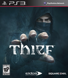 Box art for the game Thief