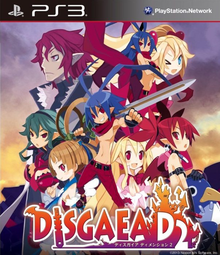 Box art for the game Disgaea D2: A Brighter Darkness