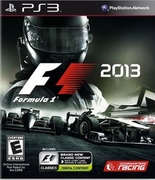 Box art for the game F1 2013
