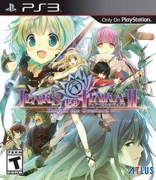 Box art for the game Tears to Tiara II: Heir of the Overlord
