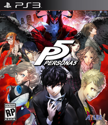 Box art for the game Persona 5