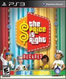 Box art for the game The Price Is Right: Decades