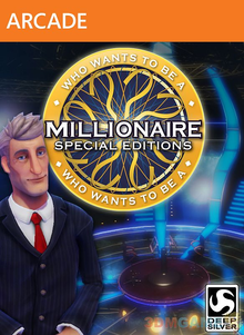 Box art for the game Who Wants to be a Millionaire? Special Editions