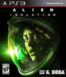 Box art for the game Alien Isolation
