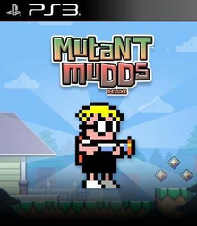 Box art for the game Mutant Mudds Deluxe