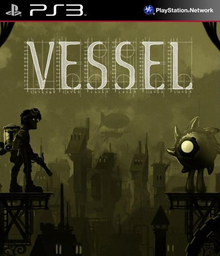 Box art for the game Vessel