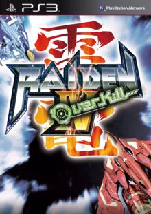 Box art for the game Raiden IV: Overkill
