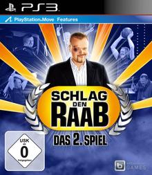 Box art for the game Schlag den Raab: Das 2. Spiel
