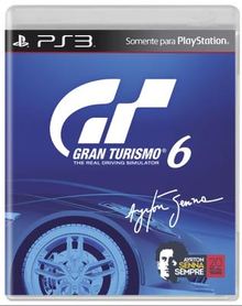 Box art for the game Gran Turismo 6 - Ayrton Senna Edition