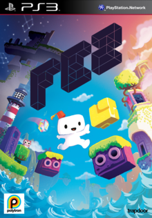 Box art for the game Fez