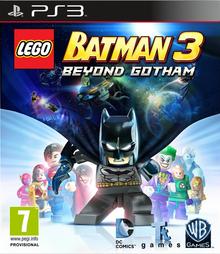 Box art for the game LEGO Batman 3: Beyond Gotham