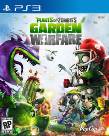 Box art for the game Plants VS Zombies: Garden Warfare