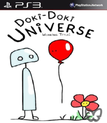 Box art for the game Doki-Doki Universe