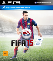 Box art for the game FIFA Soccer 15