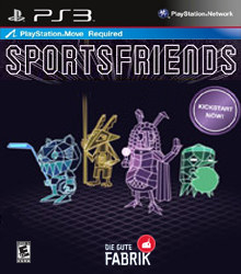 Box art for the game Sportsfriends