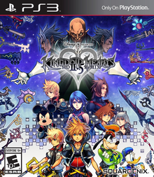 Box art for the game Kingdom Hearts HD 2.5 ReMIX (Kingdom Hearts: Birth by Sleep)