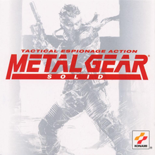 Box art for the game Metal Gear Solid