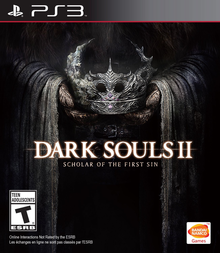 Capa do jogo Dark Souls II: Scholar of the First Sin