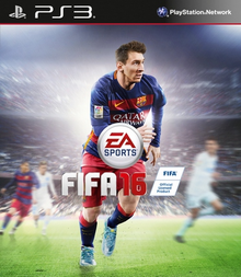 Box art for the game FIFA 16