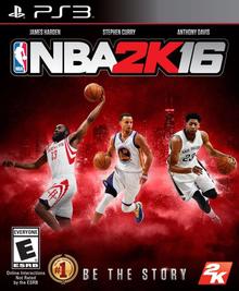 Box art for the game NBA 2K16