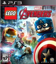 Box art for the game LEGO Marvel's Avengers