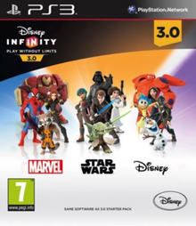 Box art for the game Disney Infinity 3.0