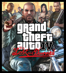 Capa do jogo Grand Theft Auto IV: The Lost and Damned