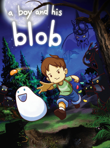 Box art for the game A Boy and his Blob