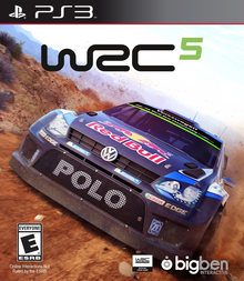 Box art for the game WRC 5