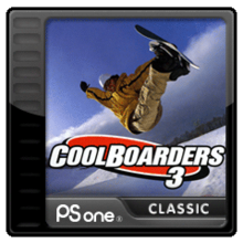 Box art for the game Cool Boarders 3