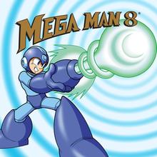 Box art for the game Mega Man 8