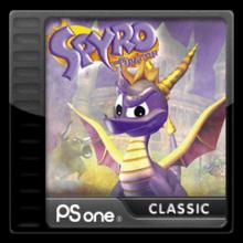 Box art for the game Spyro the Dragon