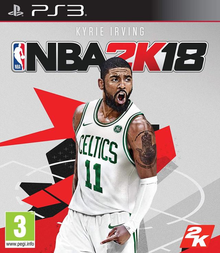 Box art for the game NBA 2K18